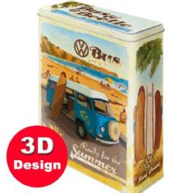 VW - Ready for Summer Embossed Storage Tin - Large